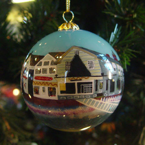 Kennebunkport Glass Ornament