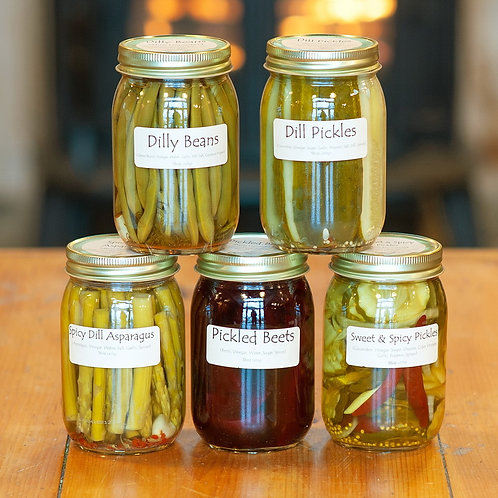 Maine Homestead Pickled Vegetables