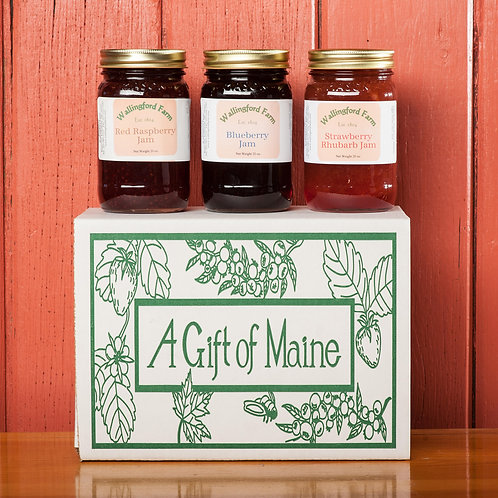 Berry Best Jams of Maine Gift Box