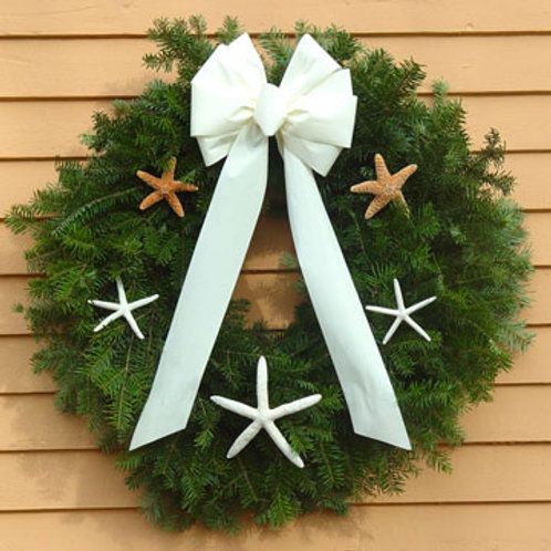 Maine Balsam Starfish Wreath