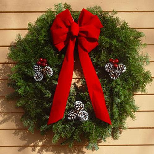 Maine Balsam Winterberry Wreath