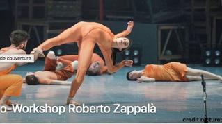 Stage danseurs professionnels Roberto Zappalà au Croiseur - Lyon