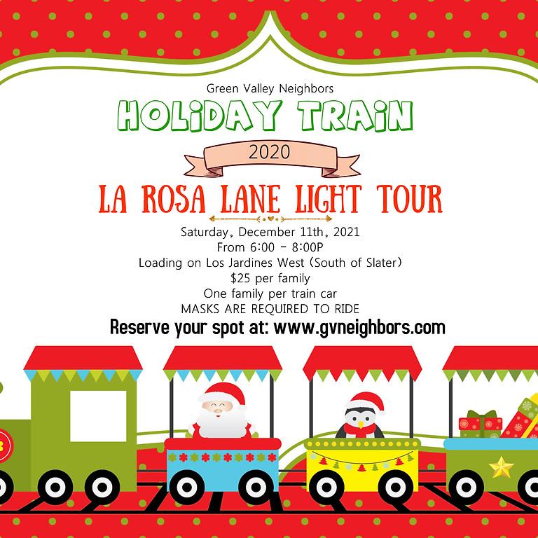 La Rosa Lane Light Tour Train