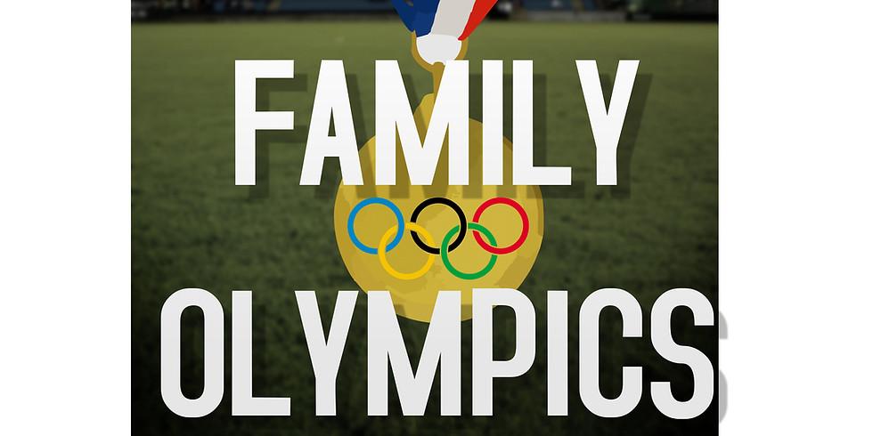 COMING SOON! 2021 Family Olympics