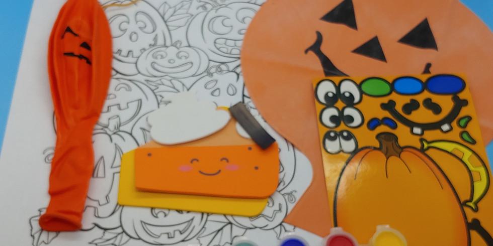October Paint A Mini Pumpkin Kit Ages 3-5