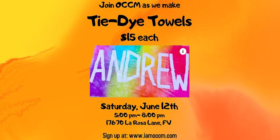 Tie-Dye Towels