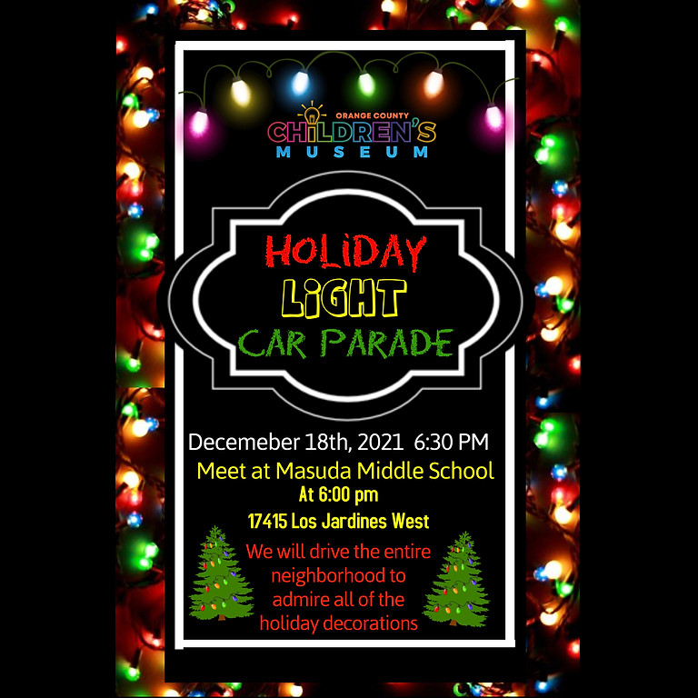 2nd Annual Holiday Lights Car Parade