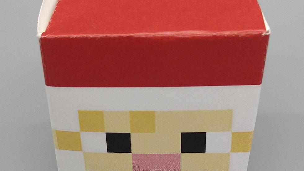 Elf-Sized Minecraft Santa Mask
