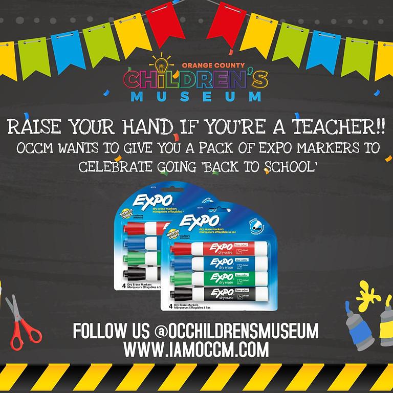 Back to School Teacher Celebration