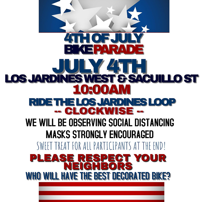 4th Annual 4th of July Bike Parade
