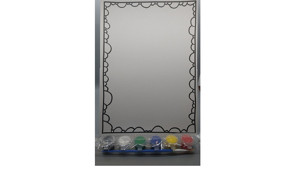 Paint-A-Picture Pack 12x8 Frame