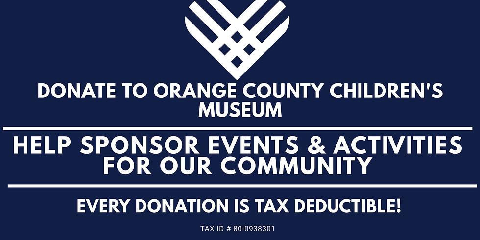 DONATE TO ORANGE COUNTY CHILDREN'S MUSEUM