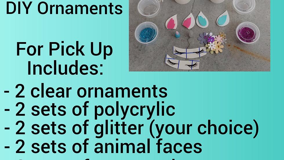 Unicorn Ornament Kit - Makes 2 Unicorns