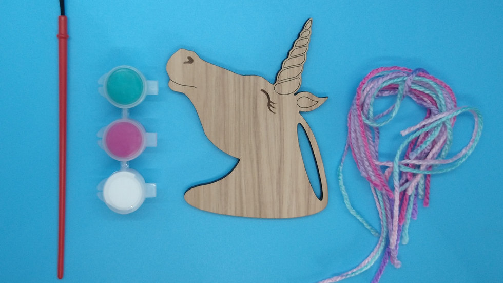 Unicorn Wood Painting Kit