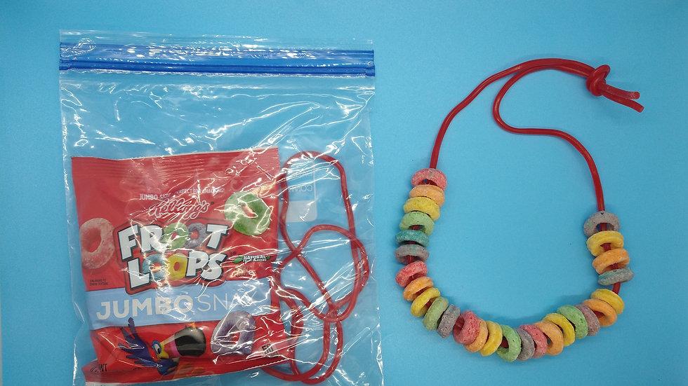 Froot Loop Necklace