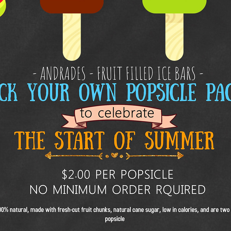 Pick Your Own Popsicle Pack