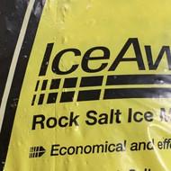 Rock Salt Ice Melter