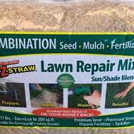 Straw Lawn Repair Mix