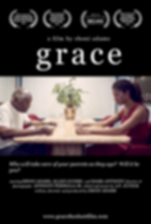 Grace the shortfilm poster with Eboni Adams and Allen Guidry