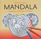 Horse Mandalas - Colouring Book