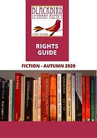Blackbird Literary Agency Fiction FBF 20