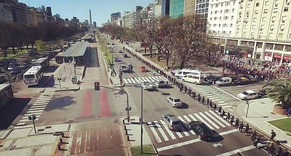 A21 Argentina Caminando Por Libertad (Photo courtesy Equipo A21 Argentina Facebook Page)