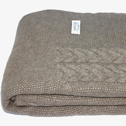The Wish Throw - Natural Cashmere
