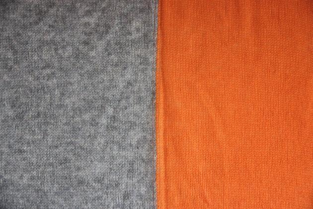 Tangerine Colorblock Travelwrap