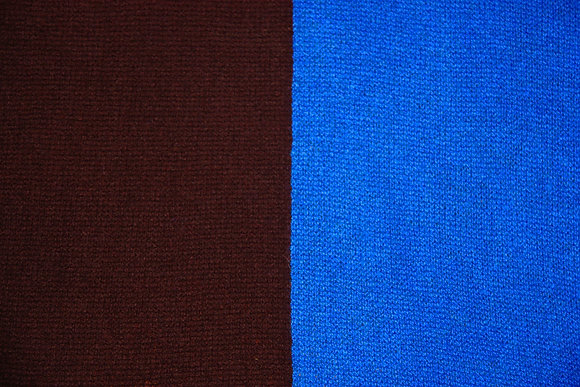 Electric Blue Colorblock Travelwrap