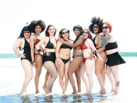 Goths on the Beach!