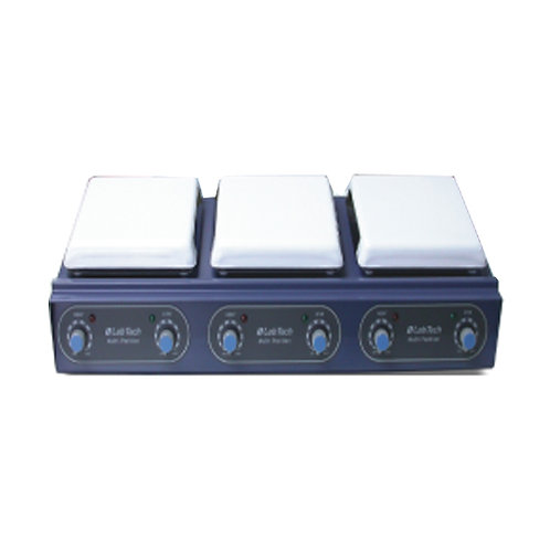 Agitador magnético multipunto con calefacción LabTech LMS-3003