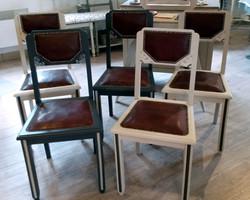 chaises art déco