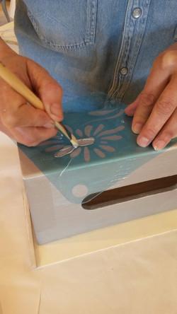 Peinture métal