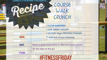 Recipes for Riders: Course Walk Crunch