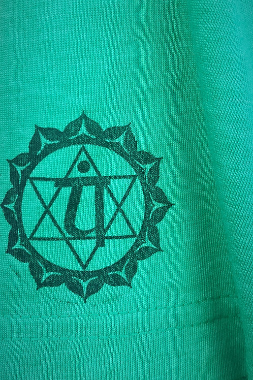 Heart Chakra Flower Of Life ONE OF A KIND T Shirts