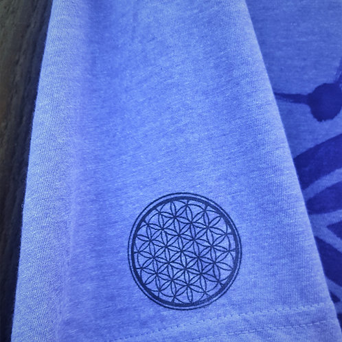 Third Eye Chakra Flower of Life ONE OF A KIND T-Shirt