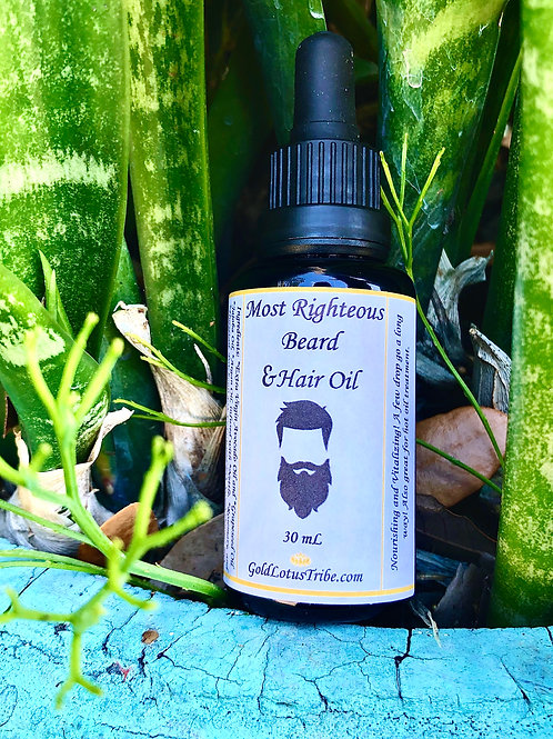 Most Righteous Beard Oil