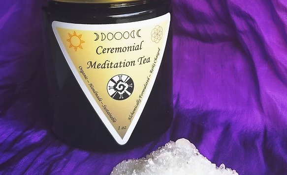 Ceremonial Meditation Tea - 1 oz