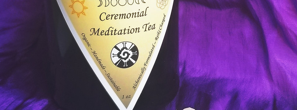 Ceremonial Meditation Tea