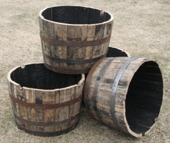 Garden Design Garden Design With Whiskey Barrel Planter