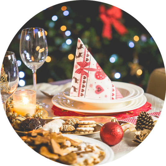 Fyra tips på hur du överlever julens frossa