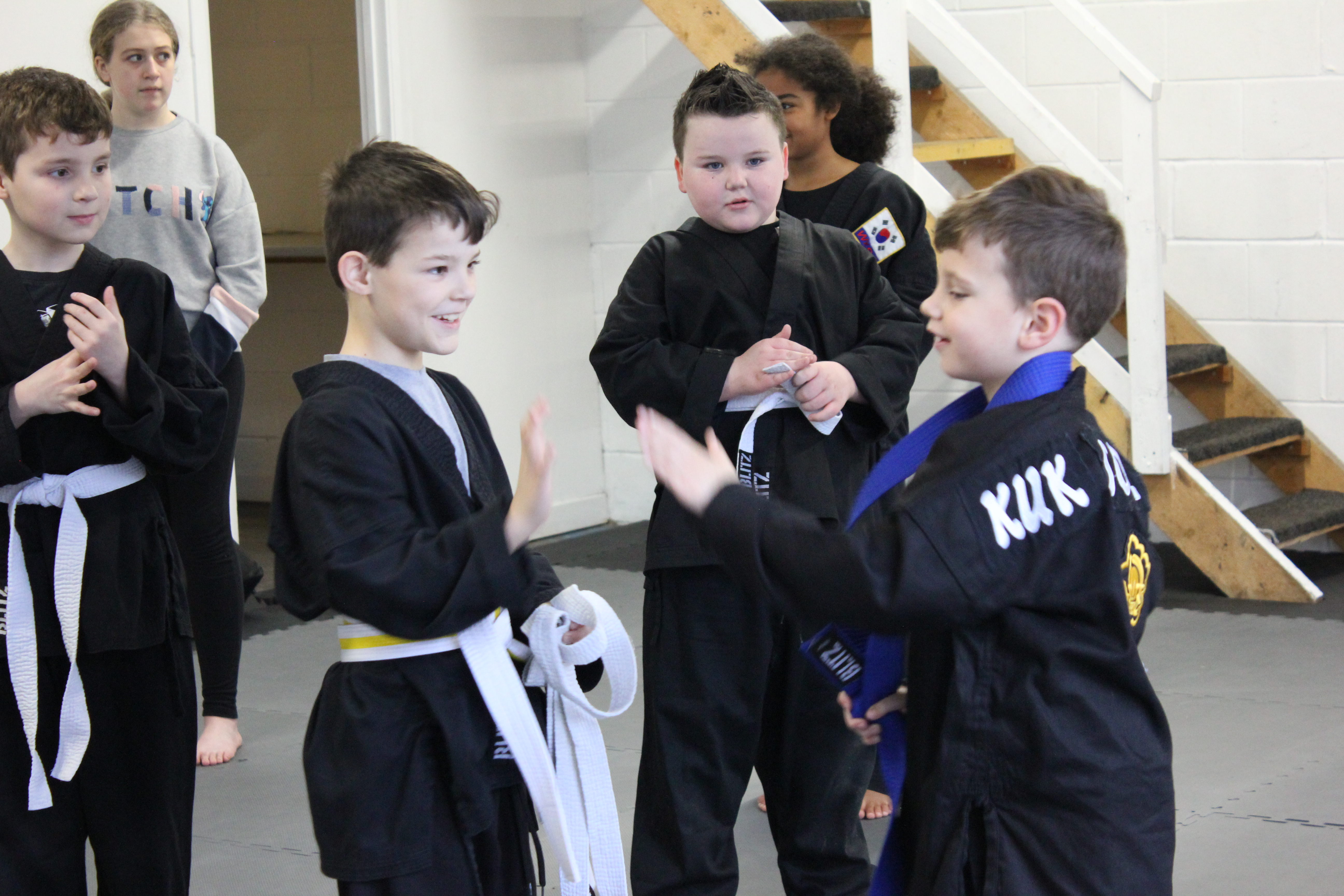 supportive friendly martial arts centre