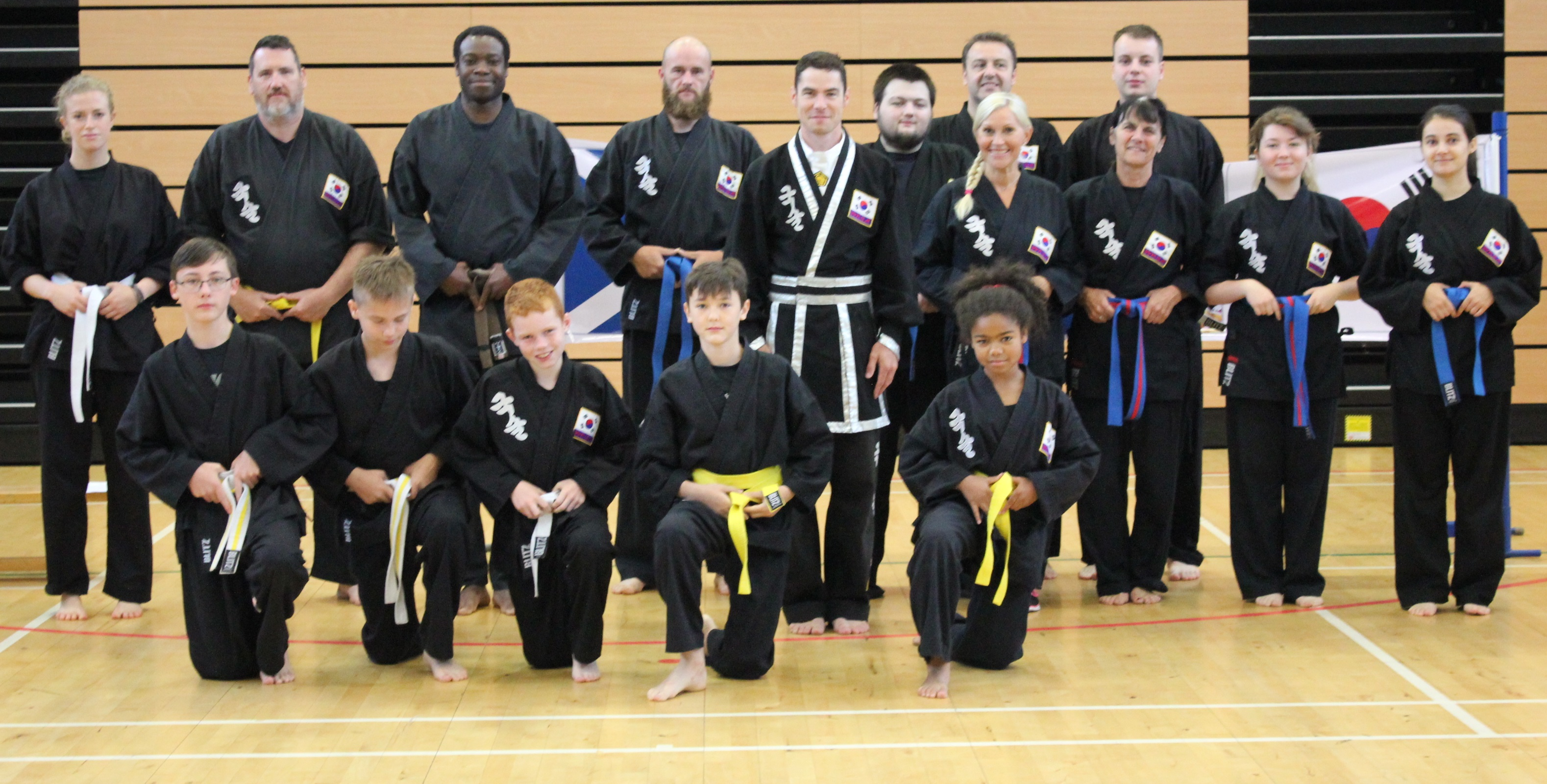 students of Kuk sool won perth martial a