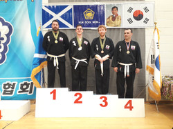Martial arts in Perth Competing