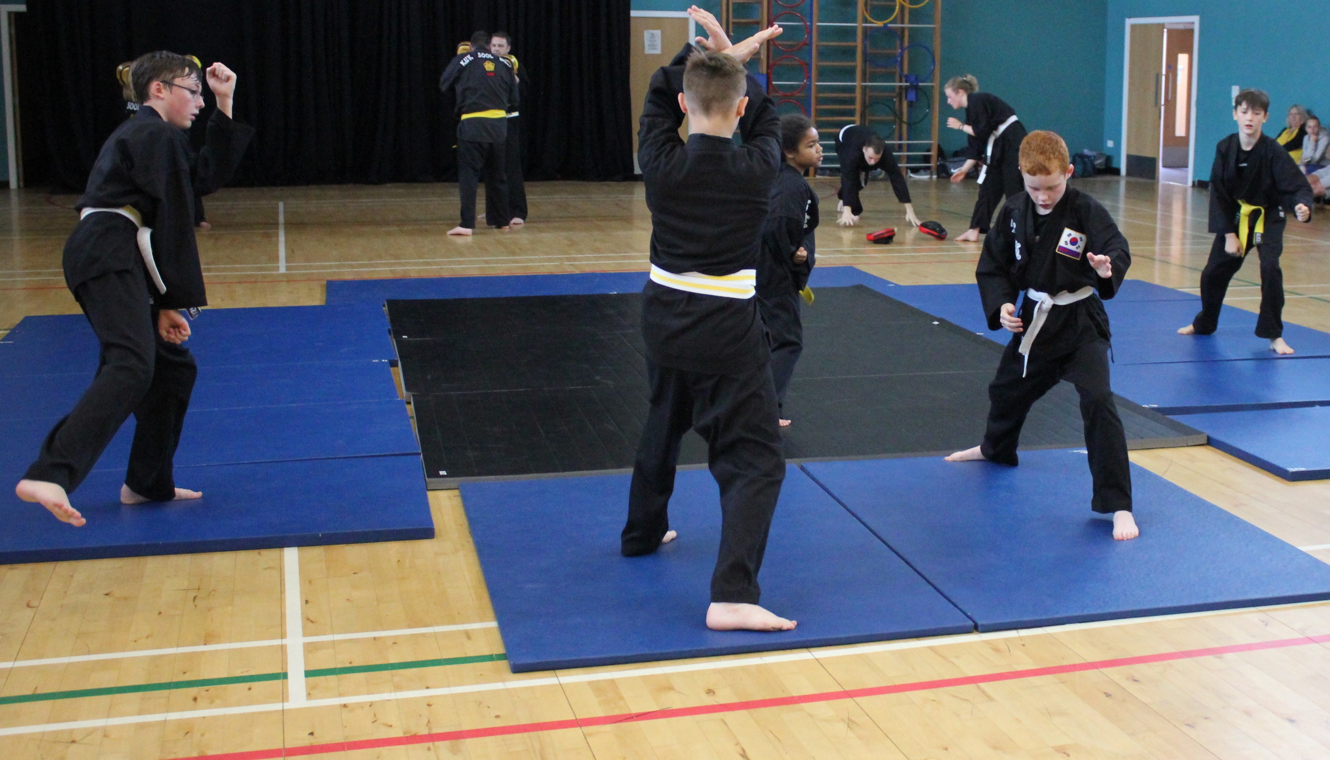 kids testing martial arts Perth