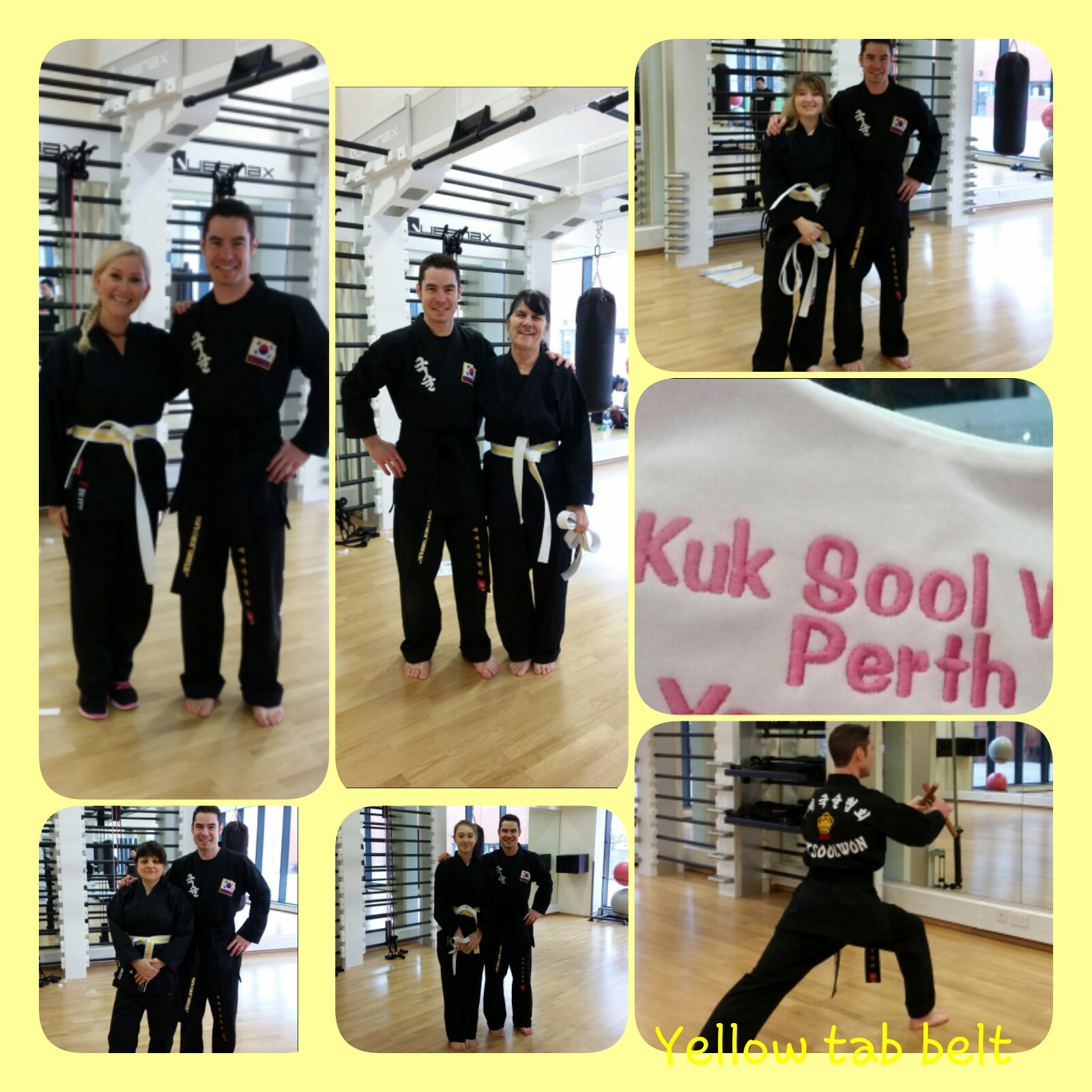 Promoting to yellow tab Kuk Sool Won of Perth