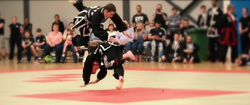 Richard Steel Rolling break fall Scottish KSW tournament 2017