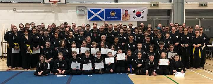 Kuk Sool Won of Perth - Scottish seminar