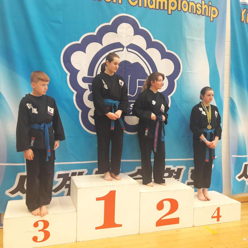 Kuk Sool Won of Perth Scottish champions