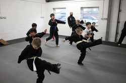 Kuk Sool Won martial arts Perth kicks